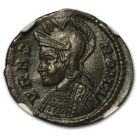 Roman Emp Constantinian AE3/4 Nummus (330-340 AD) CH AU NGC