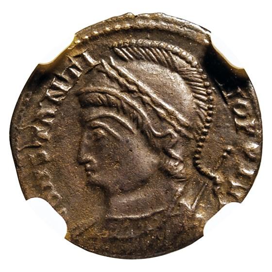 Roman Emp Constantinian AE3/4 Nummus (330-340 AD) MS NGC