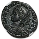 Roman Emp Constantinian AE3/4 Nummus (330-340 AD) MS* NGC
