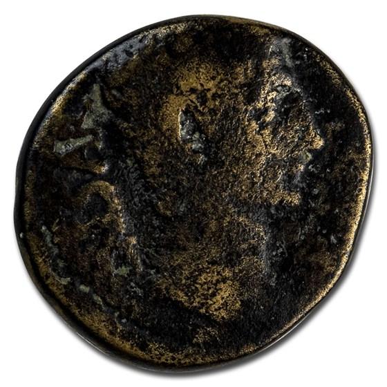 Roman Empire AE As Emp Augustus 27 BC VG (RIC I 485)