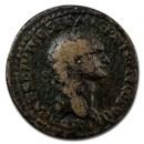 Roman Empire AE As Emp Domitian 80-81 AD Fine (RIC II 308)