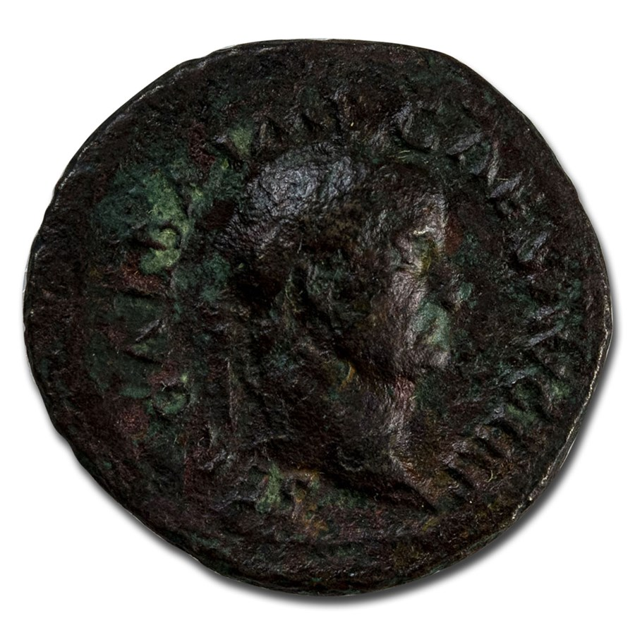 Roman Empire AE As Emp Galba (68 AD) VF (RIC I 328)