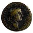 Roman Empire AE As Emp Galba (68 AD) VG (RIC I 496)