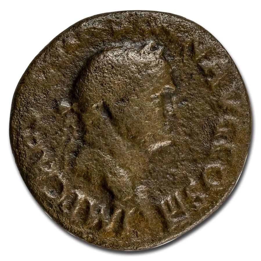 Roman Empire AE As Emp Vespasian (74 AD) VG (RIC II 670)
