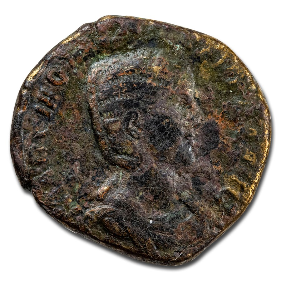 Roman Empire AE As Otacillia Severa (244-49 AD) VG (RIC IV 203b)