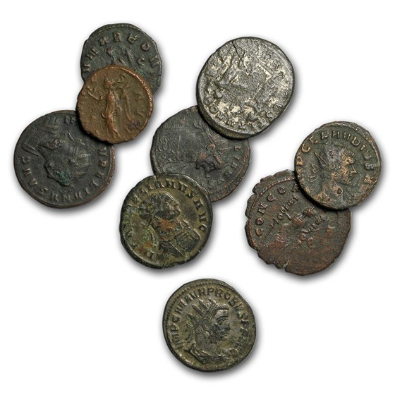 Roman Empire AE Bronze coins Crisis of The Third Century VG-Fine