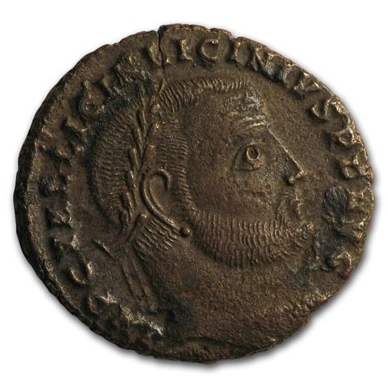 Roman Empire AE Follis Emperor Licinius I (308-324 AD) XF