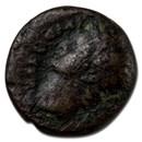 Roman Empire AE Quadrans Emp Domitian 74 AD Fine (RIC II 1581)