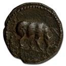 Roman Empire AE Quadrans Emp Domitian 81-96 AD VF (RIC II 434)