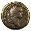 Roman Empire AE Sestertius Emp Domitian 82 AD VG (RIC II 837)