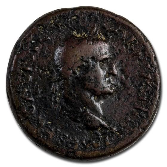 Roman Empire AE Sestertius Emp Galba (68 AD) Fine (RIC I 355)