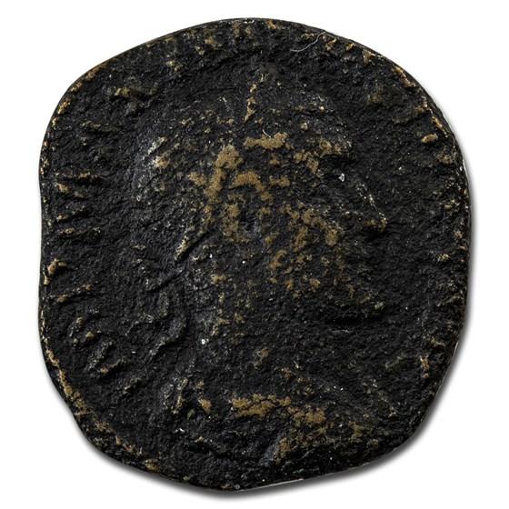 Roman Empire AE Sestertius Emp Maximinius I 236 AD VG (RIC IV 58)