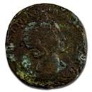 Roman Empire AE Sestertius Julia Mamaea (222-235 AD) (Verdigris)