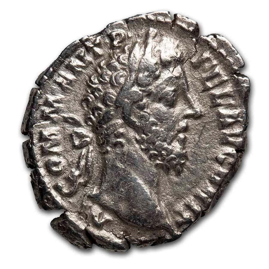 Roman Empire AR Denarius Commodus (177-192 AD) VF (RIC III 169)