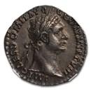Roman Empire AR Denarius Domitian (81-96 AD) AU NGC RIC II 663