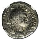 Roman Empire AR Denarius Domitian (81-96 AD) Fine NGC (RIC II 92)
