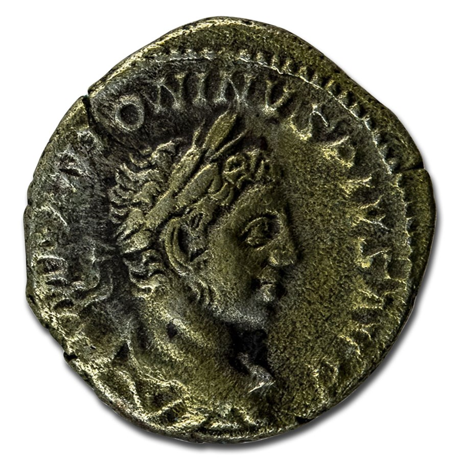 Roman Empire AR Denarius Emp Elagabalus 220-221 XF (RIC IV 56)