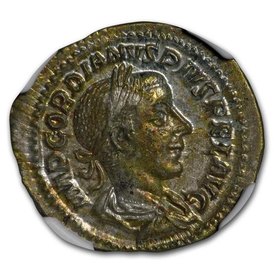 Roman Empire AR Denarius Emp. Gordian III (238-244 AD) MS NGC