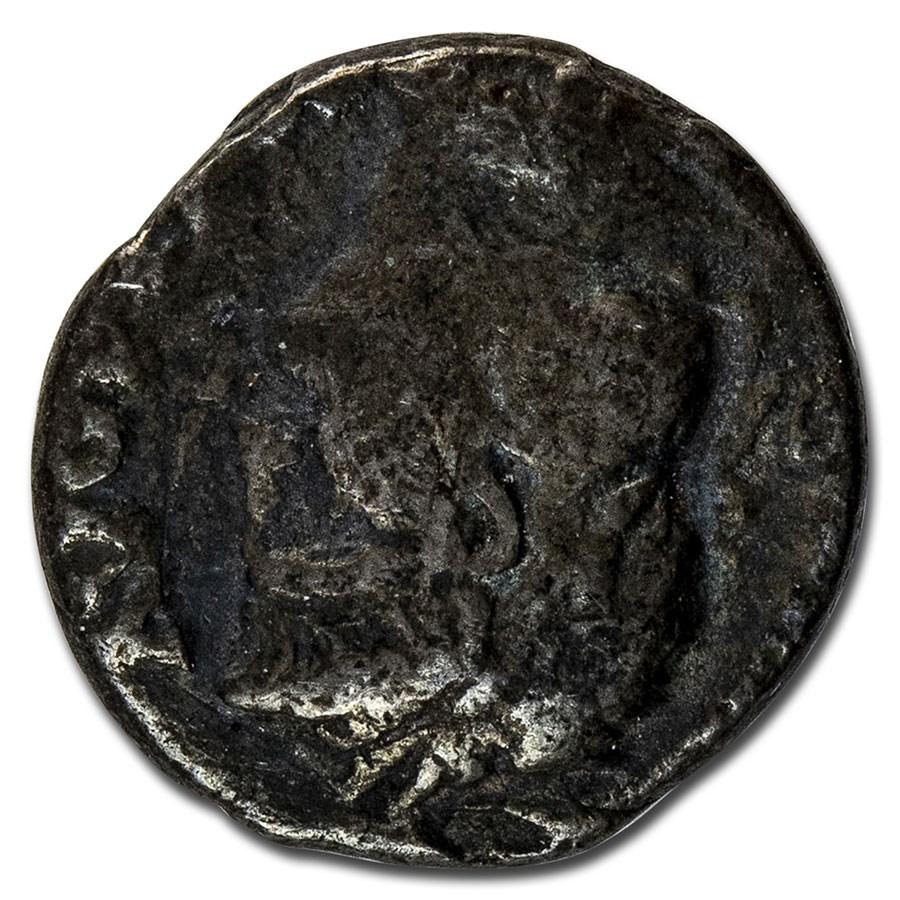Roman Empire AR Denarius Emp Nero (66-67 AD) Fine (RIC I 64)