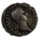 Roman Empire AR Denarius Emp Nerva 97 AD Fine (RIC II 14)