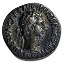 Roman Empire AR Denarius Emp Nerva 97 AD XF (RIC II 14)