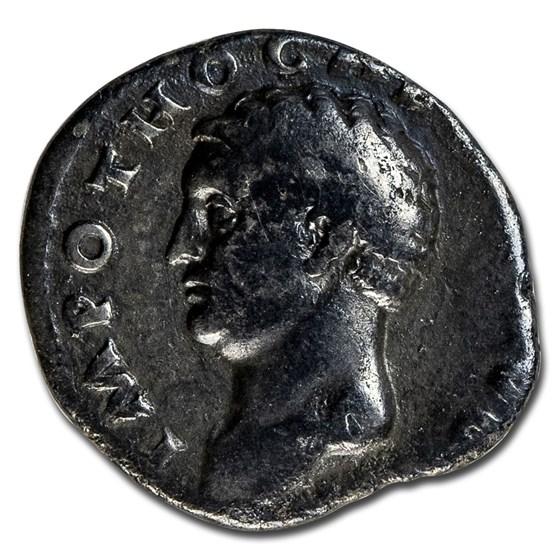 Roman Empire AR Denarius Emp Otho 69 AD Fine (RIC I 12)