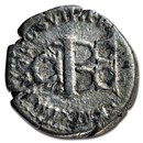 Roman Empire AR Denarius Emp Titus 80-81 AD Fine (RIC II 25a)
