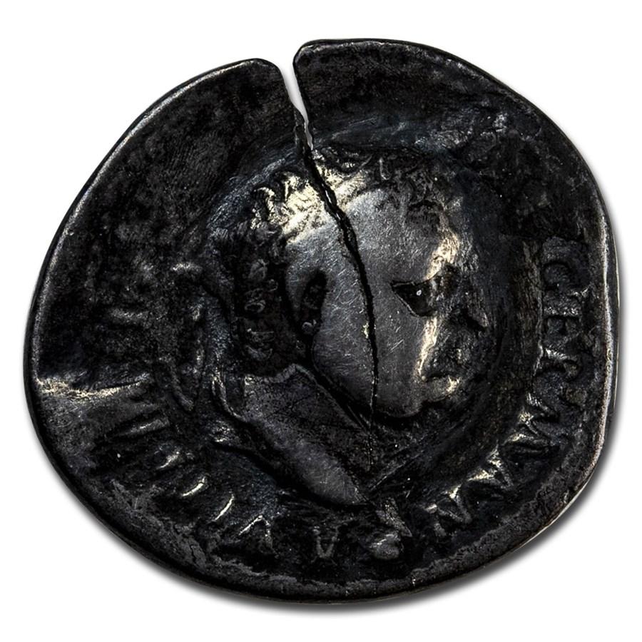 Roman Empire AR Denarius Emp Vitellius (69 AD) Ch Fine RIC I 109