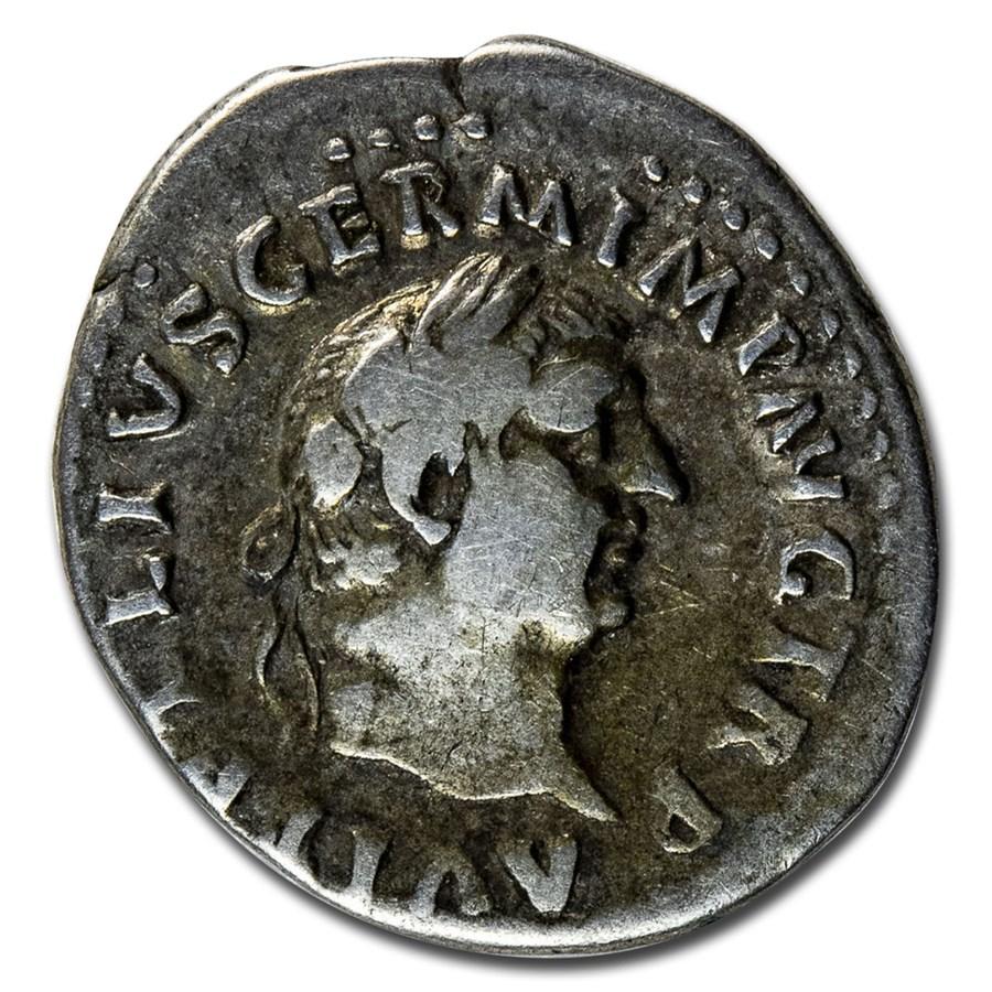 Roman Empire AR Denarius Emp Vitellius (69 AD) Ch Fine (RIC I 62)