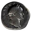 Roman Empire AR Denarius Vespasian (73 AD) AD VG (RIC II 546)