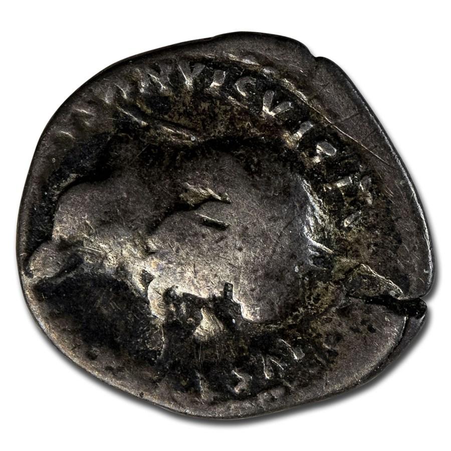 Roman Empire AR Denarius Vespasian (77-78 AD) AD VG (RIC II 943)