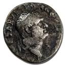 Roman Empire AR Denarius Vespasian (77-78 AD) Fine (RIC II 937)