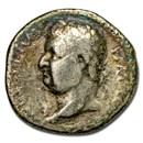 Roman Empire AR Denarius Vitellius (69 AD) Ch Fine (RIC I 36)