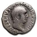 Roman Empire AR Denarius Vitellius (69 AD) Ch Fine (RIC I 70)