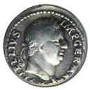 Roman Empire AR Denarius Vitellius (69 AD) Fine 12 ANACS RIC I 67