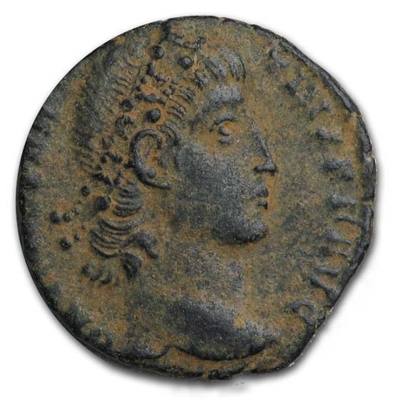 Roman Empire Attributed AE 3/4 Constantius II (AD 337-361) VG-VF