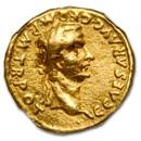 Roman Empire AV Aureus Caligula (37-41 AD) Ch Fine NGC (RIC I 15)