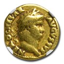 Roman Empire AV Aureus Nero (54-68 AD) Fine NGC (RIC I 52)