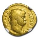 Roman Empire AV Aureus Nero (54-68 AD) VG NGC (RIC I 52)