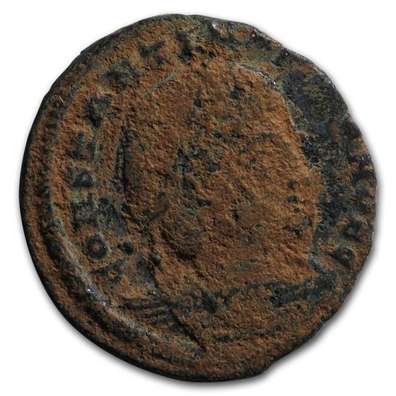 Roman Empire Bronze As Emperor Constantine II (317-340 AD)