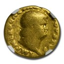 Roman Empire Gold Aureus Nero (54-68 AD) Good NGC (RIC I 71)