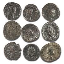 Roman Empire Silvered Antoninianus Crisis of The Third Century