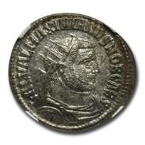 Roman Empire Silvered Aurelianianus Galerius (305-311 AD) MS NGC