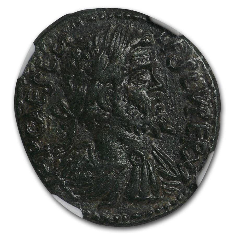 Roman Empire Tetradrachm Sept. Severus (193-211 AD) Ch XF * NGC