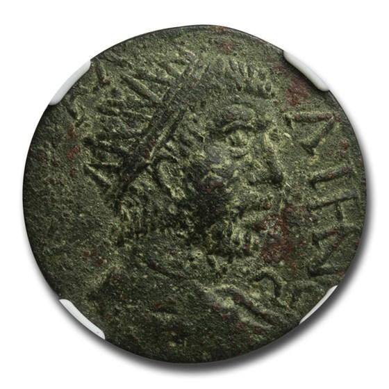 Roman Provencial Caria AE30 Gallienus (253-268 AD) AU NGC