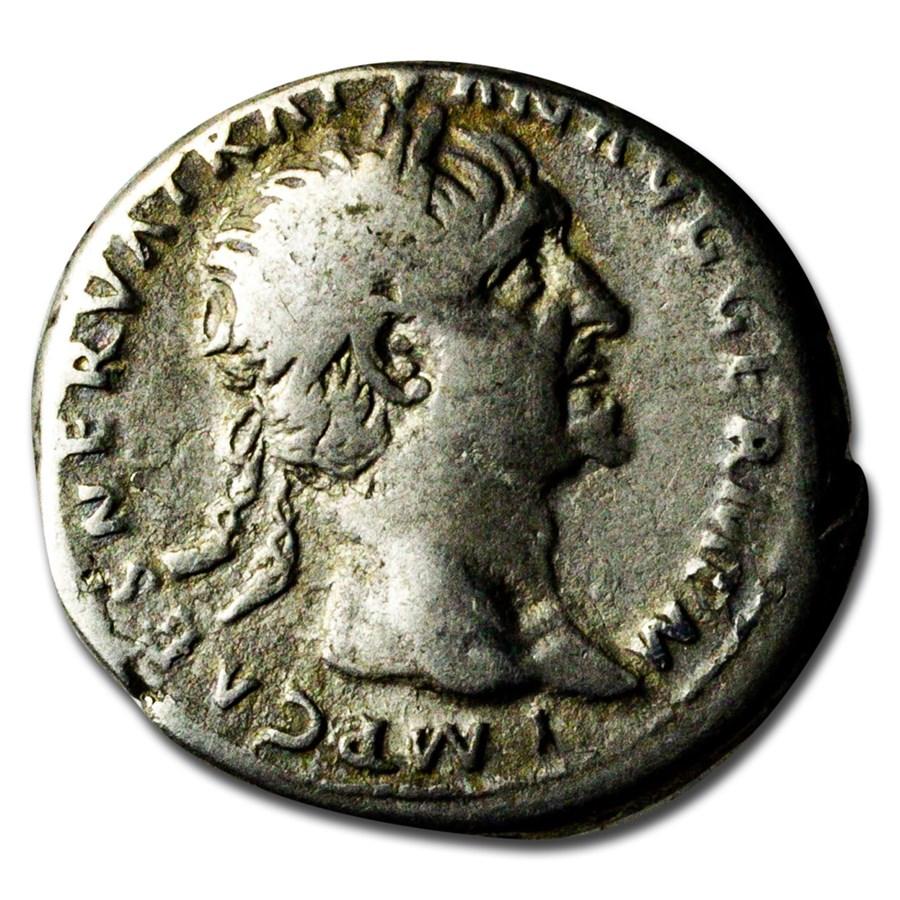 Roman Province AR Tetradrachm Trajan (98-117 AD) VF (RIC II 723)