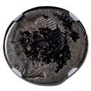 Roman Republic AR Denarius (114-113 BC) Ch Fine NGC (Brockage)