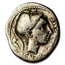 Roman Republic AR Denarius C. Bla. (112-111 BC) Fine (Cr-296/1d)