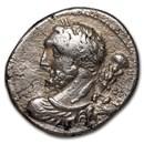 Roman Republic AR Denarius L. Cal P. Fr 90 BC AU (Crawford 340/1)