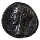Roman Republic AR Denarius L. Cassius. Q.F. Longinus 75 BC VF